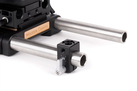 Wooden Camera ARRI Accessory Mount to 19mm Rod Clamp