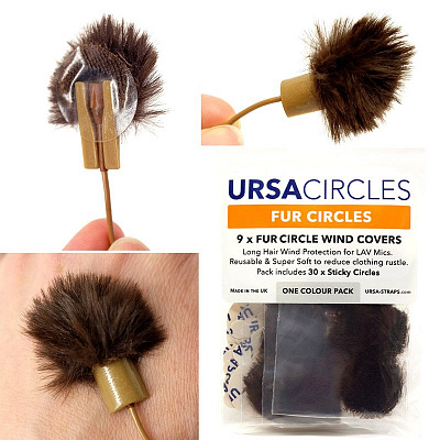 Ветрозащита для микрофона URSA Fur Circles